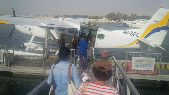 Seawings Seaplane Tours: Boarding procedures