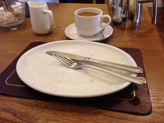 Edwards: My empty plate!!