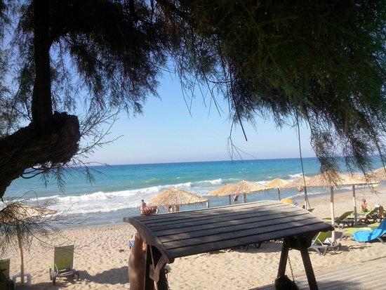 Rethymno Palace: la plage d l hotel