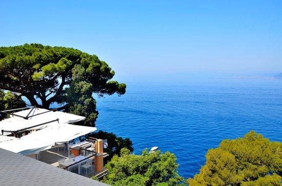 Storica Residenza StellaMaris: la vista dal tavolo