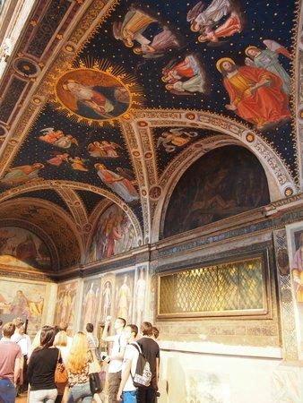 Chiesa di San Maurizio al Monastero Maggiore: 教堂內部