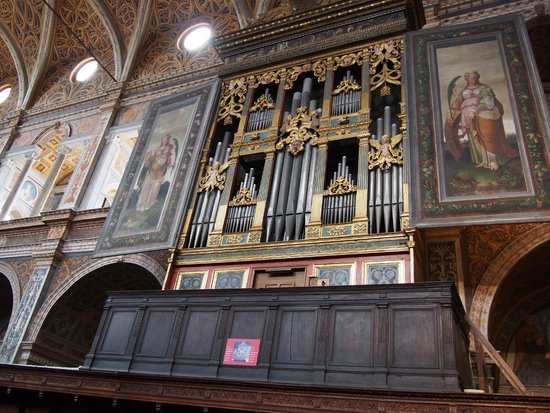 Chiesa di San Maurizio al Monastero Maggiore: 管風琴