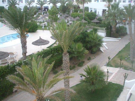 Vincci Nozha Beach Resort : Vue de la chambre