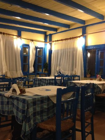Alkyona Sunset Restaurant: interiors