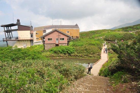 Asahidake Natural Hiking Route: 再び姿見駅へ