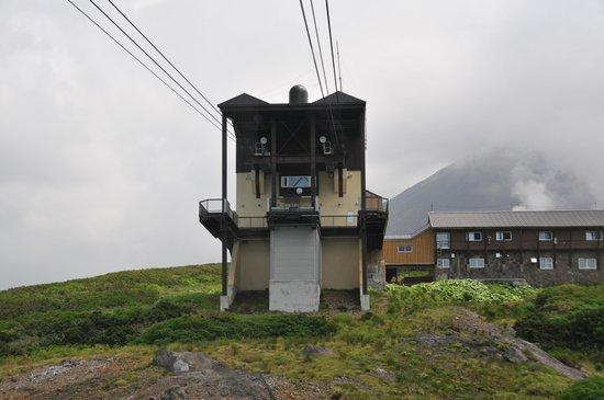 Asahidake Natural Hiking Route: そして下山。