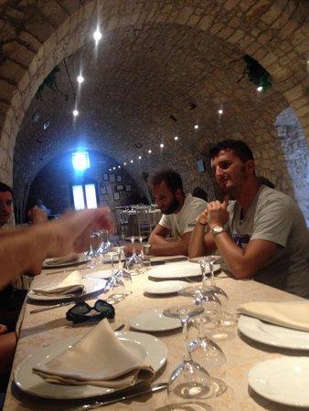 Masseria Mofetta: La sala da pranzo