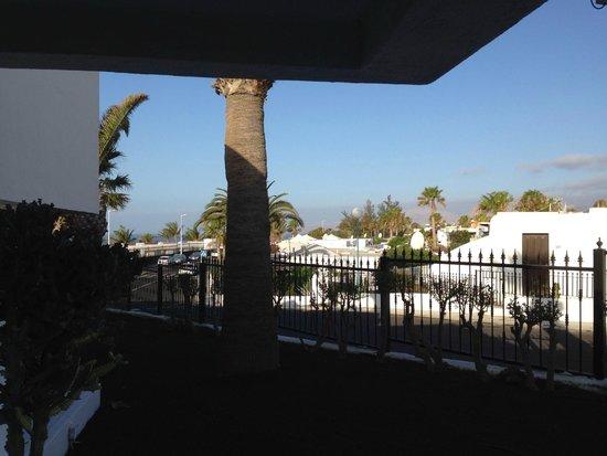 Apartamentos Panorama: Vue de la terrasse