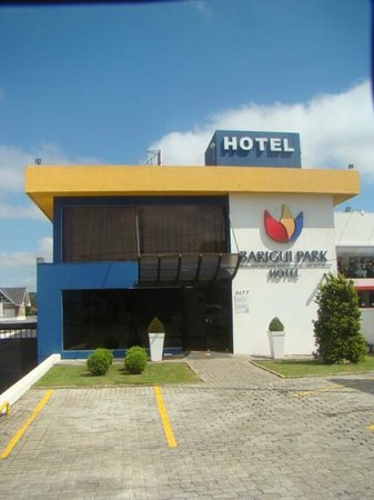 Barigui Park Hotel: Frente do Hotel