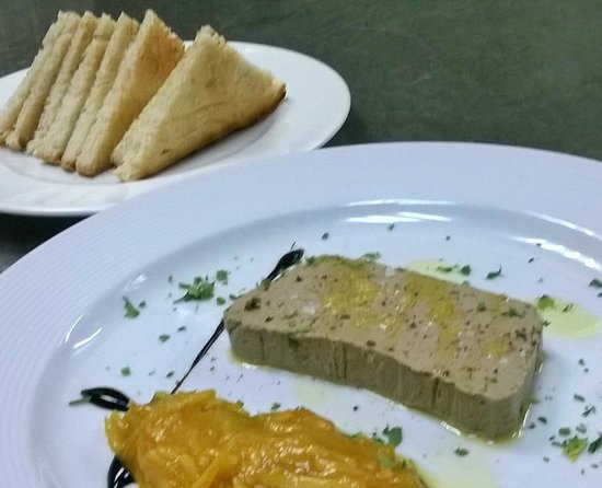 Bar - Restaurant Mantonia : Liver Pate w/ Orange Mermelade