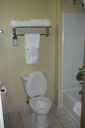 Best Western Plus Tulsa Inn & Suites: Bath and toilet