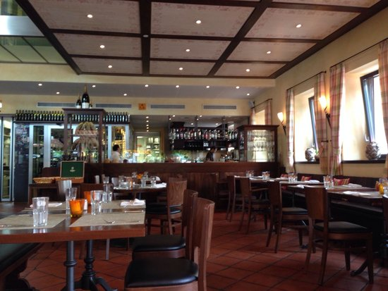 Ristorante Sensi: Intérieur du restaurant