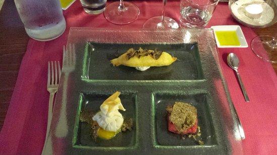 Ad Hoc: Truffle Tasting course 1