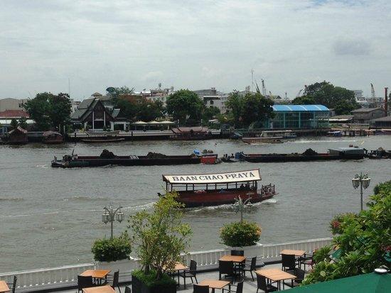 Lord Jim's at Mandarin Oriental, Bangkok: View from the restaurant