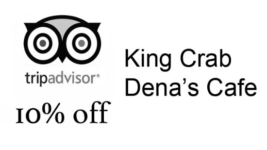 Dena's Cafe : Make a photo of this picture and you'll get 10% discount, show it to the cashier.