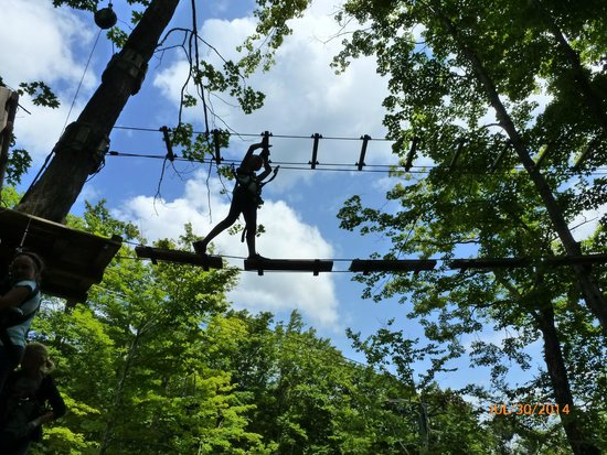 Bromley Mountain : Aerial Adventure Park