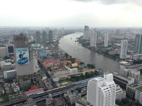 Tower Club at Lebua : Amazing view from 58th Floor