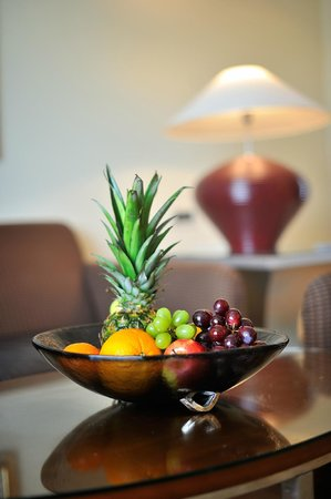 Regent Warsaw Hotel: Welcome Fruits