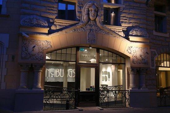 Neiburgs Hotel : Hotel Neiburgs at night