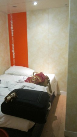 easyHotel London Earls Court : stanza