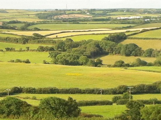 Wooldown Holiday Cottages: Spelendid view of the rolling countryside from Corn Keep cottage.