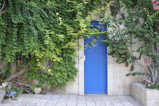 Mishkenot Sha'ananim Guest house: Yamin Moshe Door