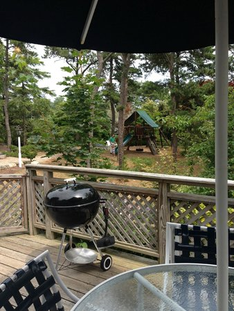 Pleasant Bay Village: View from the deck.