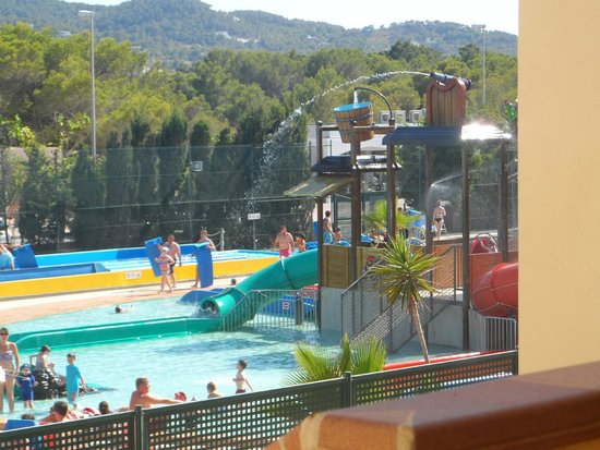 TUI Family Life Sirenis Aura: Waterpark view from room