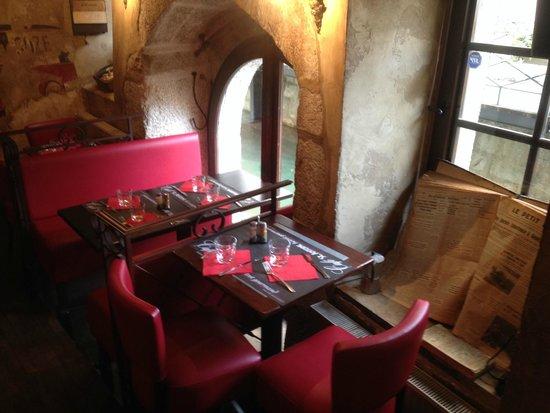 Cafe St. Antoine : petite salle