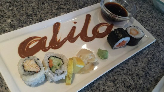 Mitsis Alila Resort & Spa : sushi