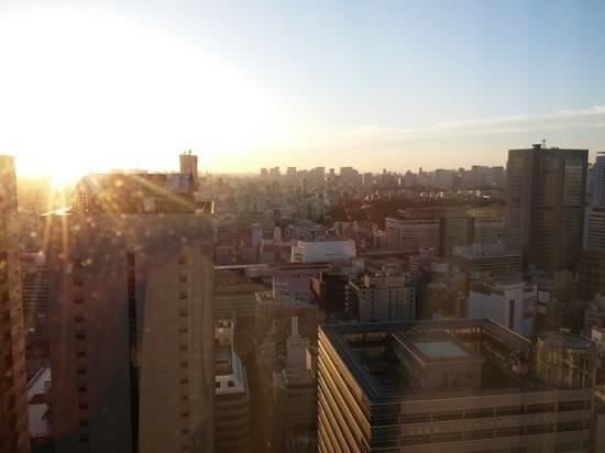 Keio Plaza Hotel Tokyo: blick aus dem zimmer
