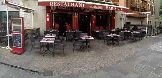 Cafe St. Antoine : terrasse