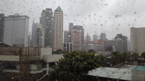 Fairmont Makati: Room view