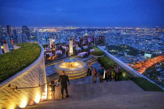 lebua at State Tower : heading towards the iconic SkyBar