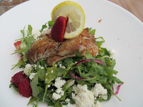 Flow Restaurant and Lounge : Rock Cod Salad
