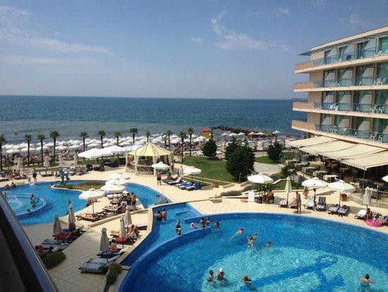 Zornitza Sands SPA Hotel : Вид из номера