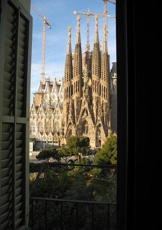 Gaudi's Nest: View from living room