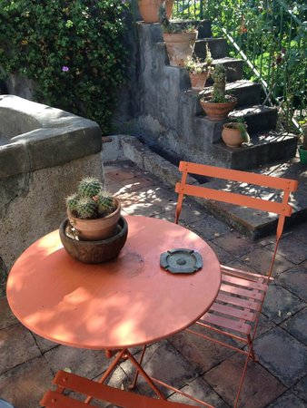 B&B La Casa di Pippinitto : in giardino