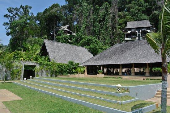 Gaya Island Resort: Reception