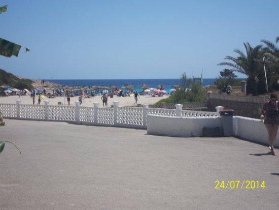 Club Hotel Tropicana Mallorca : la plage