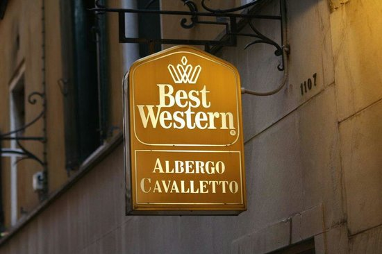 Cavalletto & Doge Orseolo: Hotel sign