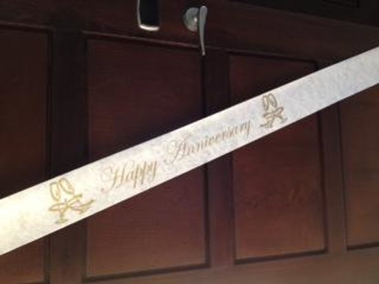 Now Jade Riviera Cancun Resort & Spa : anniversary banner