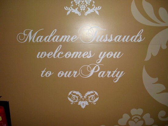 Madame Tussauds London : Entrance