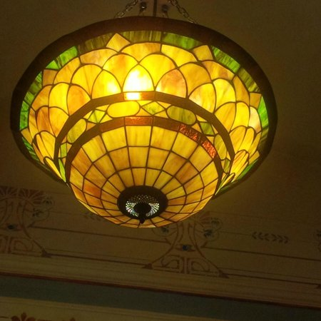Liberty Hotel: The beautiful lampshade in our room
