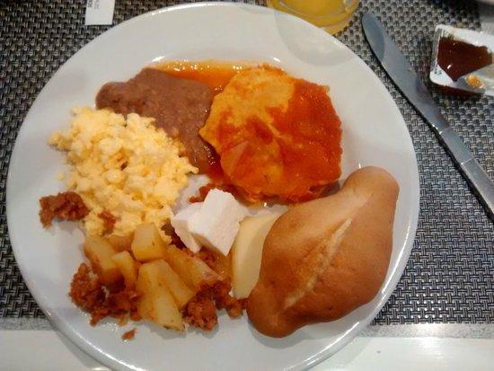 Hotel Century Zona Rosa México: Desayuno