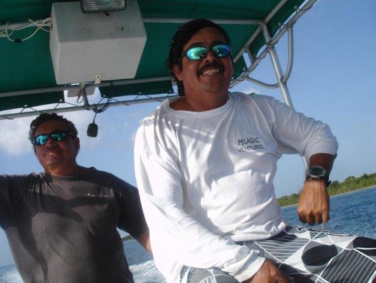 Pelagic Ventures: Alejandro - dive master
