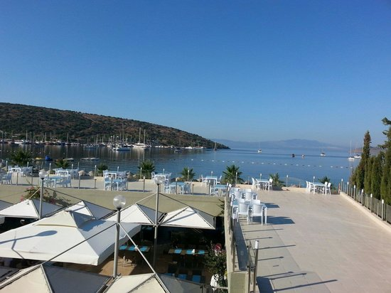 Ambrosia Hotel: View from balcony