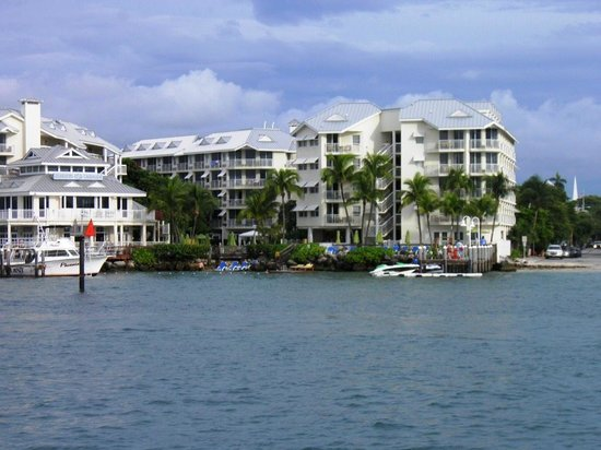 Hyatt Centric Key West Resort and Spa: View of hotel from the cruise