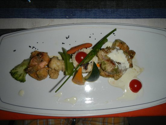 Adaaran Prestige Water Villas : assorted seafood