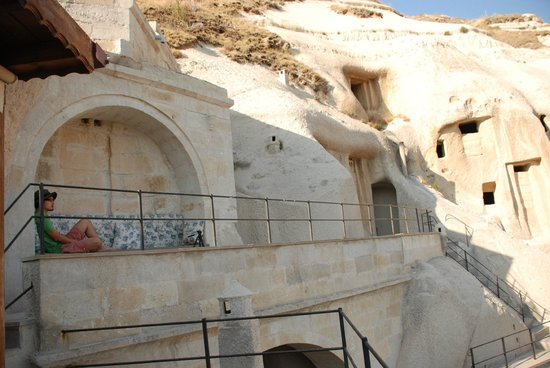 Vezir Cave Suites: view from the terrace